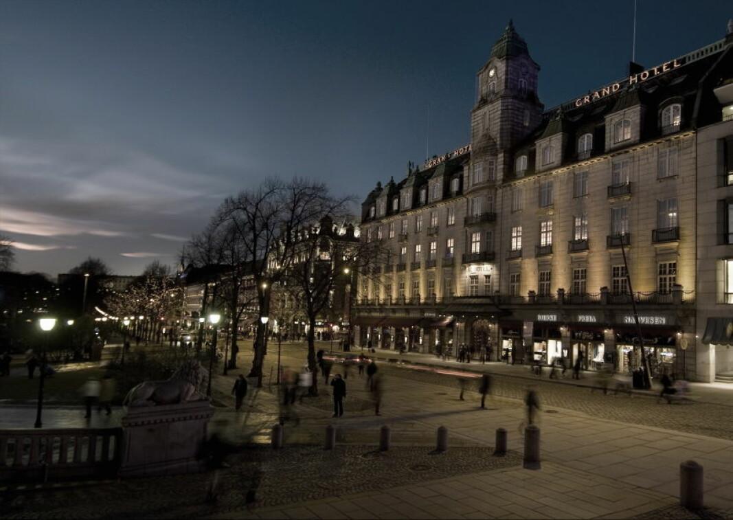 Grand Hotel Oslo søker ny kjøkkensjef. (Foto: Morten Holt, arkiv)