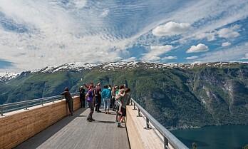11 utsiktspunkter langs veien på Vestlandet