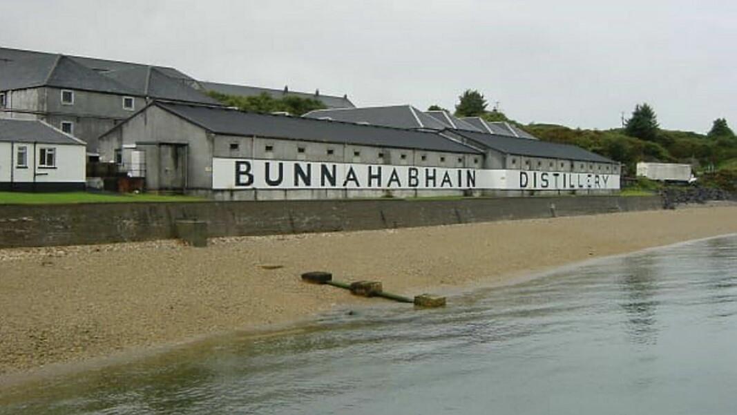 Bunnahabhain Distillery ligger på Islay (Foto: Altia)