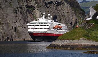 Hurtigruten Norge trapper opp til full drift i juli