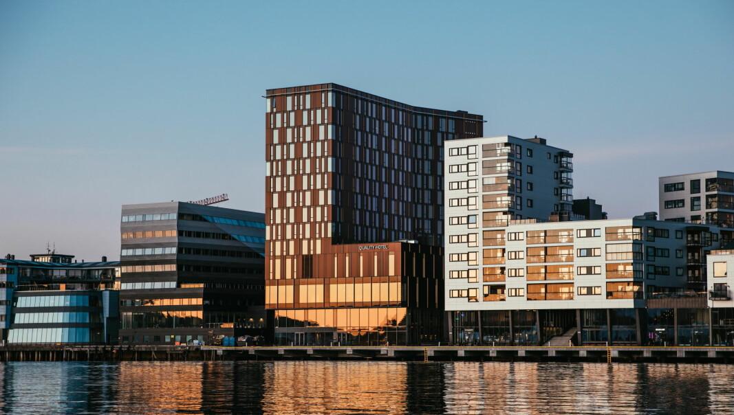 Nyåpnede Quality Hotel Ramsalt er Bodøs største hotell. (Foto: Nordic Choice Hotels)