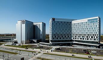 Har åpnet Nord-Europas største konferansesenter
