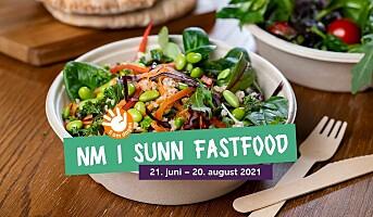 Inviterer til NM i sunn fastfood