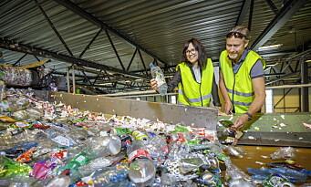 Derfor velger Ringnes 80 prosent resirkulert plast fremfor 100 prosent