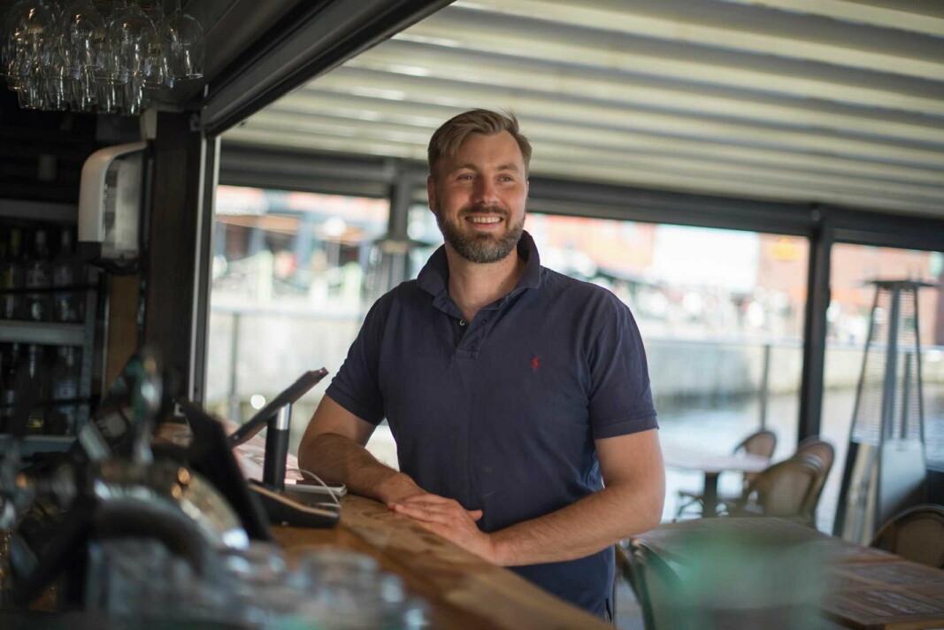 Gründer og daglig leder for OrderX, Tom Aukrust. (Foto: OrderX)