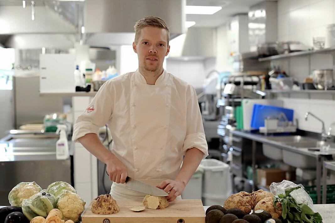 Tommy Borgen er ansatt som kjøkkensjef for Oslofjord. (Foto: Oslofjord)