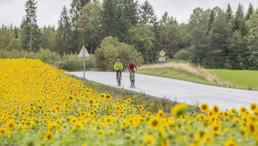 Unionsleden – nyåpnet sykkelrute fra Norge til Sverige