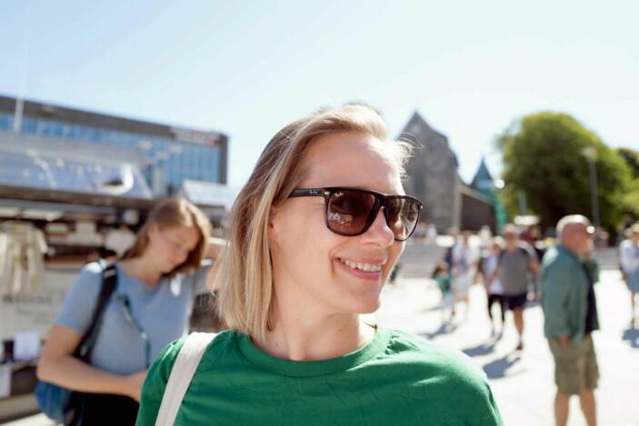 Maren Skjelde er festivalsjef. (Foto: Gladmat)