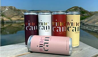 Lanserer vin på aluminiumsboks