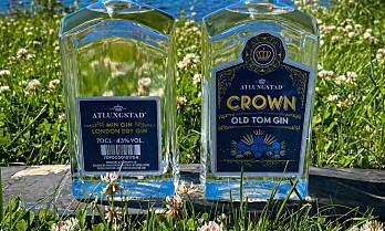 Gin fra Atlungstad Håndverksdestilleri