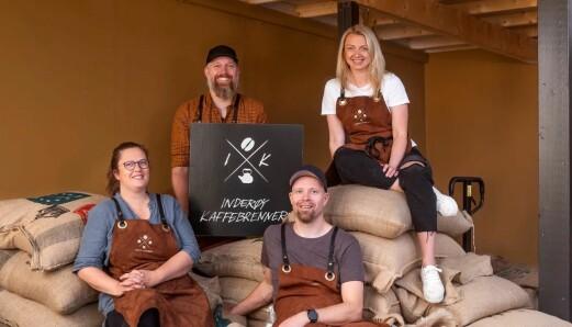 Øver-Bakken skifter navn til Inderøy kaffebrenneri
