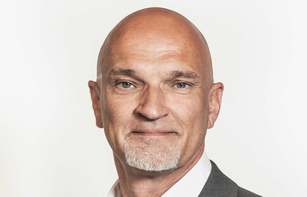 Steffen Arnold er ansatt hos Metos. (Foto: Metos)