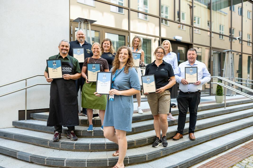 De vant prisene på Trøndersk Matfestival 2021.