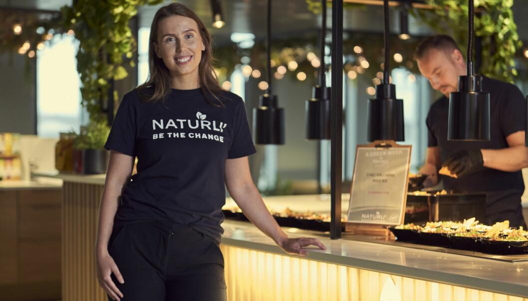 Produktsjef for Naturli', Ingrid Håvik. (Foto: Bjørn Wad)