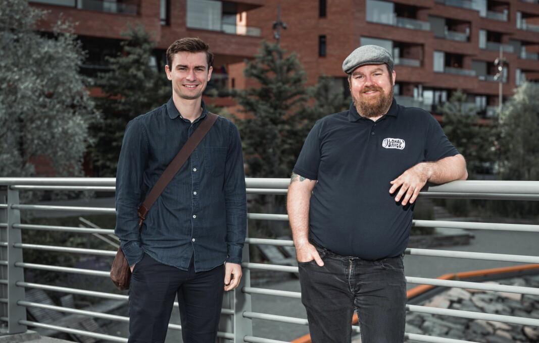 Daglig leder Eirik Tomter i Lokalbrygg AS er fornøyd med utviklingen av bevillinger. (Foto: Fredrik Alm)