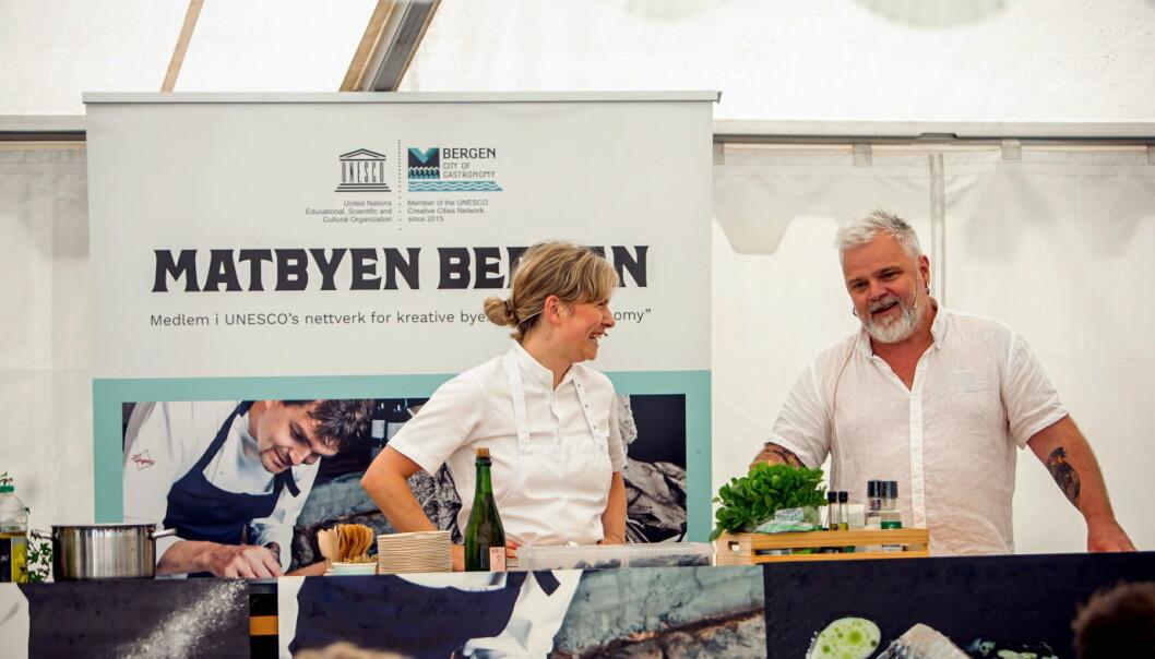 Det er klart for en ny utgave av Bergen Matfestival. (Foto: Tove Lise Mossestad)
