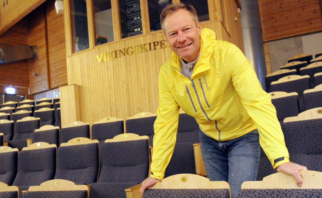 Konrad Sel kan konstatere at 100 utstillere er klare for Østlandske Storhusholdning 2021, som 6. og 7. oktober arrangeres i Vikingskipet. (Foto: Morten Holt)