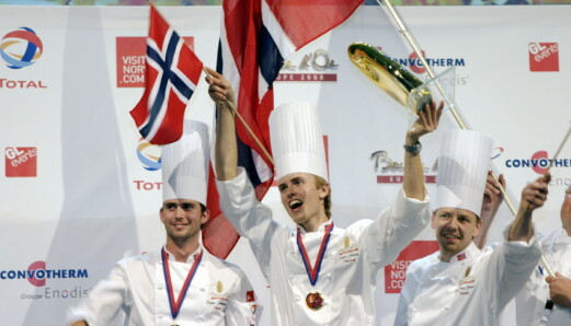 Coach for Norge i Bocuse d'Or