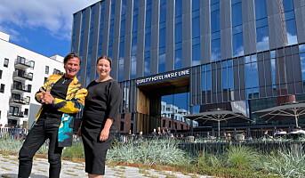 Nytt Quality-hotell åpnet i Oslo