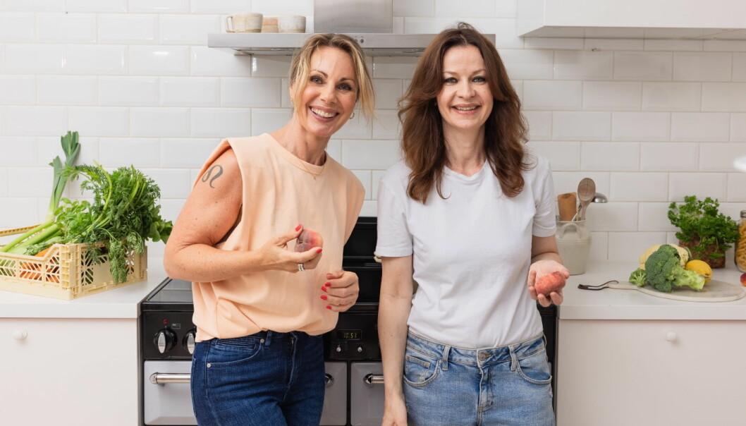 Hanne Stabell og Monica Csango driver det nye selskapet CsangoStabell. (Foto: Line Dammen)