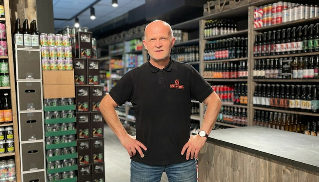 Frank Tronstad leder den nye Gulating-butikken på Sørlandssenteret i Kristiansand. (Foto: Gulating Gruppen)