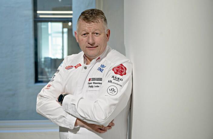 Daglig leder for NKL, Espen Wasenius.