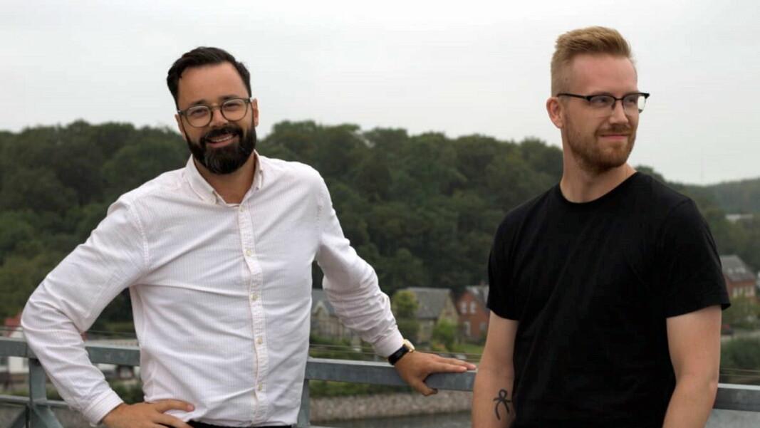 Frank Otterbeck og Steffen Nørgaard er ansett hos Quickorder. (Foto:Quickorder)
