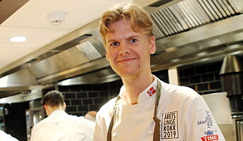 Årets kokk-kandidat: Aleksander Løkkeberg Vartdal