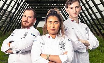 Utfordrende festmåltid på tallerkenen i Årets unge kokk 2021