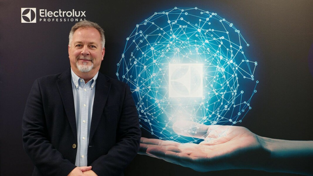 Salgssjef i Electrolux Professional, Knut R. Johannessen. (Foto: Electrolux Professional)