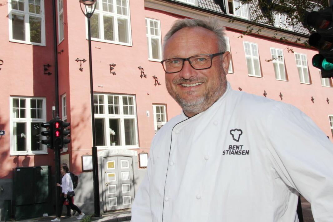 Bent Stiansen og Statholdergaarden holder stand. For 24. året på rad fikk restauranten tildelt en stjerne i Guide Michelin. (Foto: Morten Holt, arkiv)
