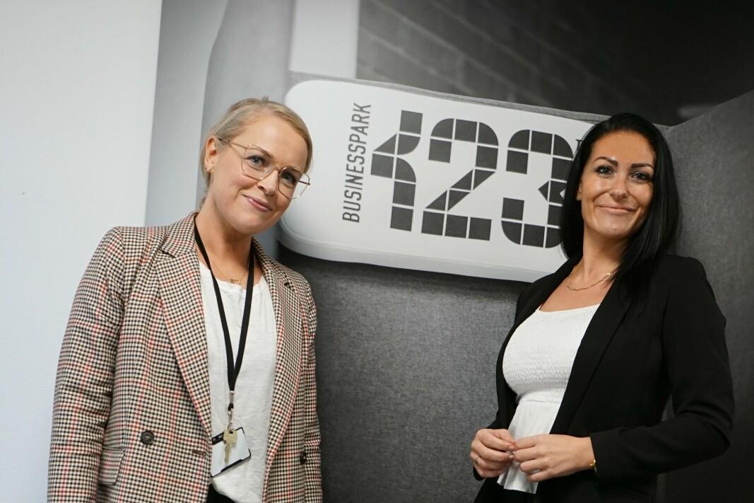 Julie Løw Sandtorv og Linn Siri Sælemyr Mortensen er ansatt hos SGI Compliance (tidligere Kiwa NorKjemi). (Foto: SGi Compliance)