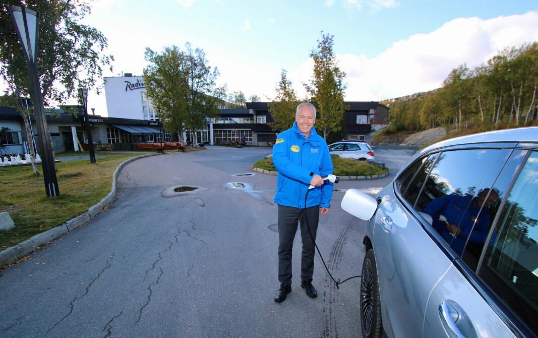 – Vi lader for nye tider, sier direktør Atle Hovi i Beitostølen Resort. (Foto: DestinasjonsKirurgene)