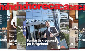 Årets sjette Horeca-magasin på vei til abonnentene