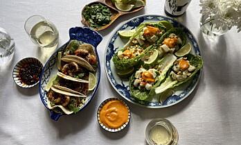 Kung Fu-taco med Sultne Gutter