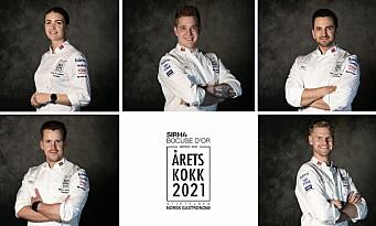 Teamene i Årets kokk og Årets unge kokk