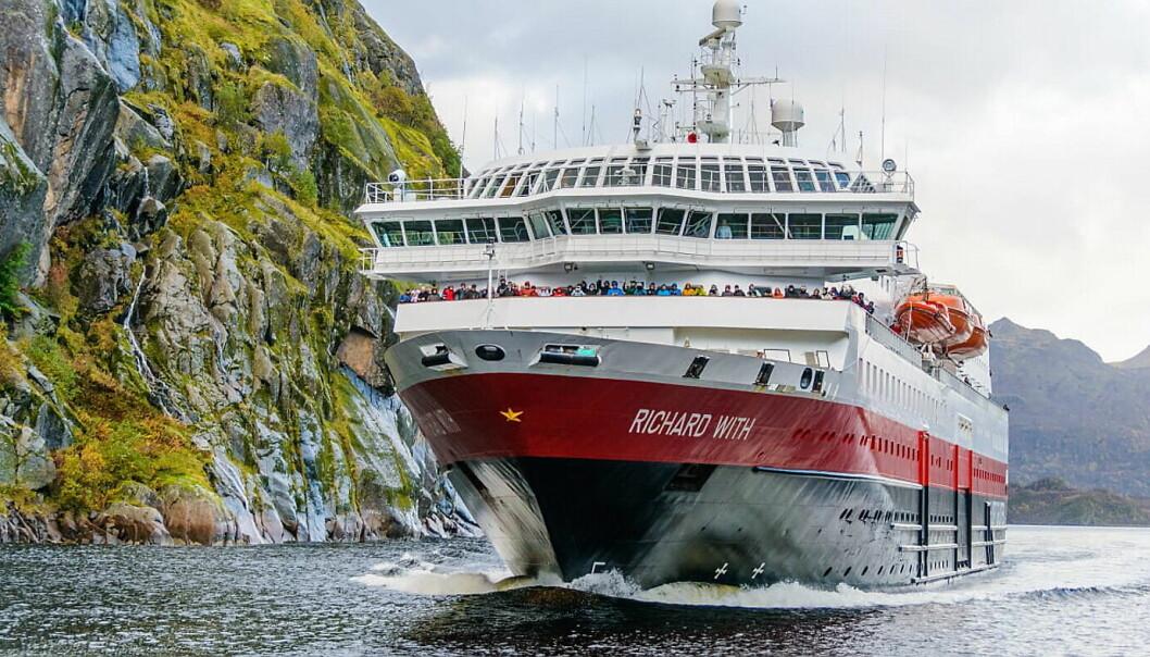 Hurtigrutens Richard With. (Foto: Hurtigruten)