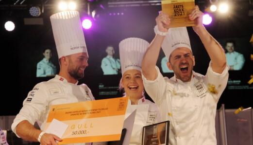 Bendi vant Årets kokk, og blir Norges nye Bocuse d'Or-deltaker