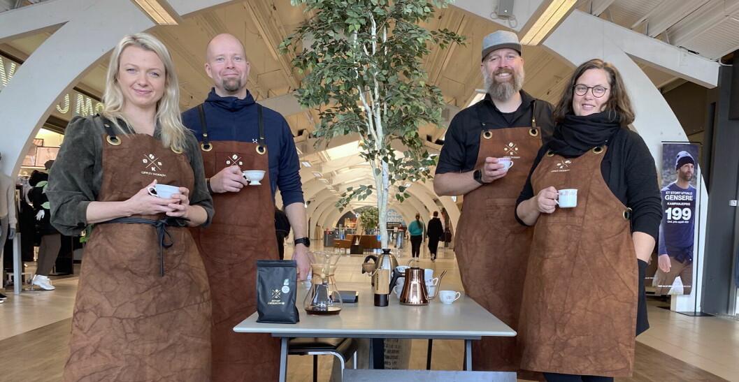 Inderøy kaffebrenneri med egen kaffebar